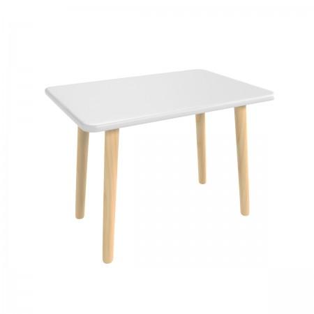 """Детский стол """"Прямоугольный"""" серый перламутр, Bambini Letto"""