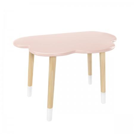 Детский стол Облако розовый, с носочками, Bambini Letto