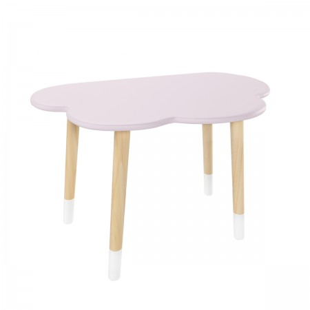 Детский стол Облако нежная лаванда, с носочками, Bambini Letto