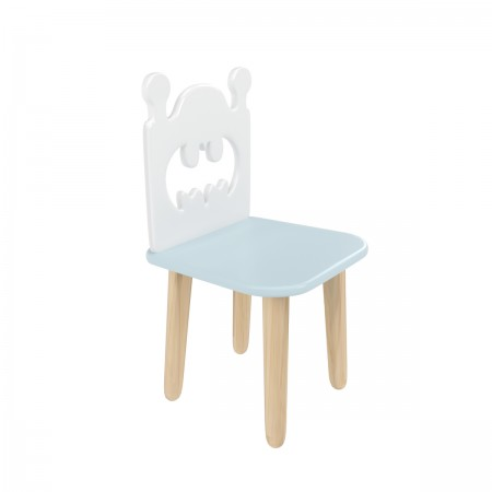 """Детский стул """"Бэтмен"""" голубой, Bambini Letto"""