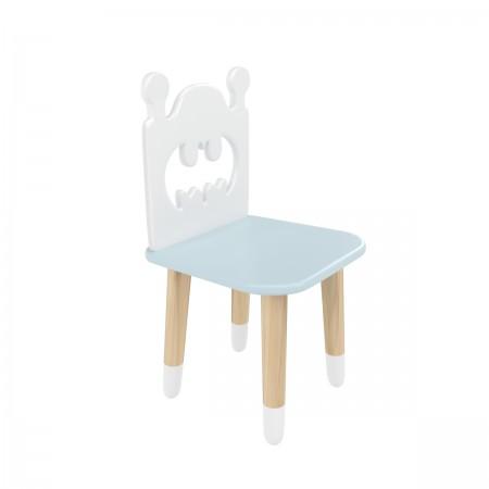 "Детский стул ""Бэтмен"" голубой, с носочками, Bambini Letto"