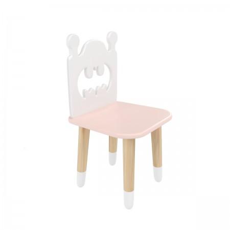 "Детский стул ""Бэтмен"" розовый, с носочками, Bambini Letto"