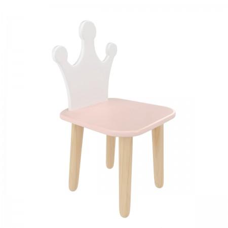Детский стул Корона розовый, Bambini Letto