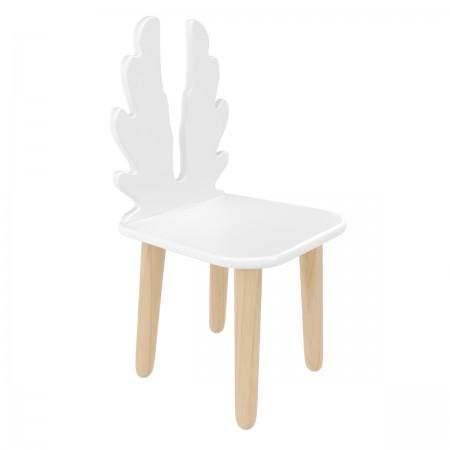 Детский стул Крылья белый, Bambini Letto