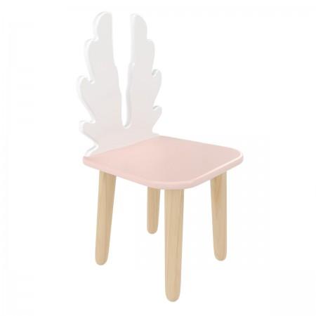 """Детский стул """"Крылья"""" розовый, Лесная Фея"""