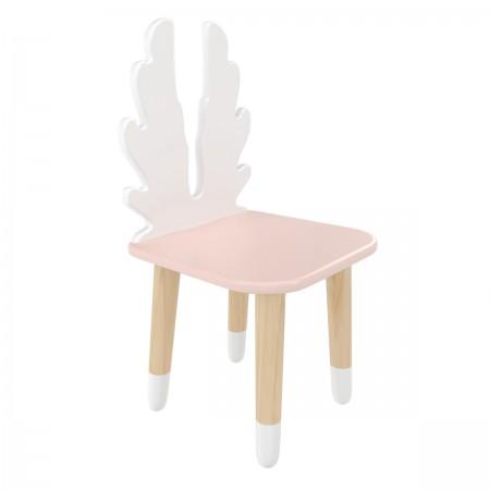 Детский стул Крылья розовый, с носочками, Bambini Letto