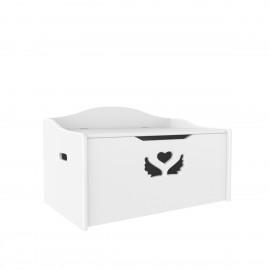 Ящик для игрушек «Крылья с сердцем»