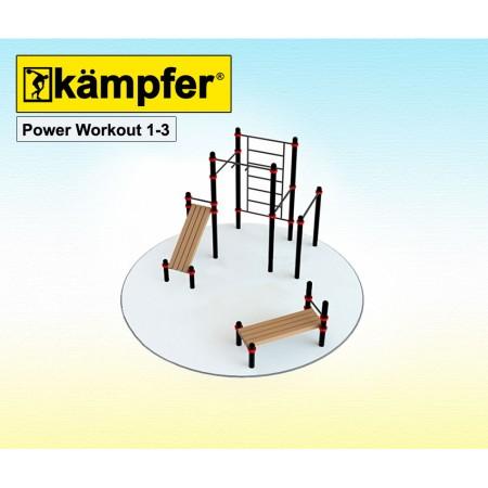 Воркаут площадка Kampfer Power Workout 1-3, Kampfer