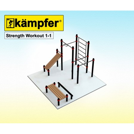 Воркаут площадка Kampfer Strength Workout 1-1,