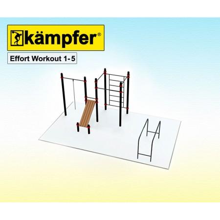 Воркаут площадка Kampfer Effort Workout 1-5, Kampfer