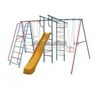 Детский спортивный комплекс (ДСК) «Вертикаль-А1+П» дачный МАКСИ с горкой 3,0 м 359