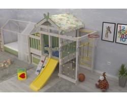 Детский игровой комплекс-кровать Савушка Baby 3