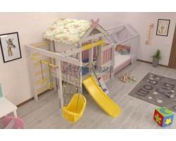 Детский игровой комплекс-кровать Савушка Baby 6