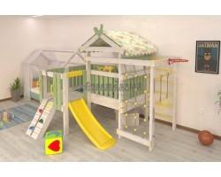 Детский игровой комплекс-кровать Савушка Baby 7