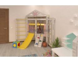 Детский игровой комплекс-кровать Савушка Baby 9