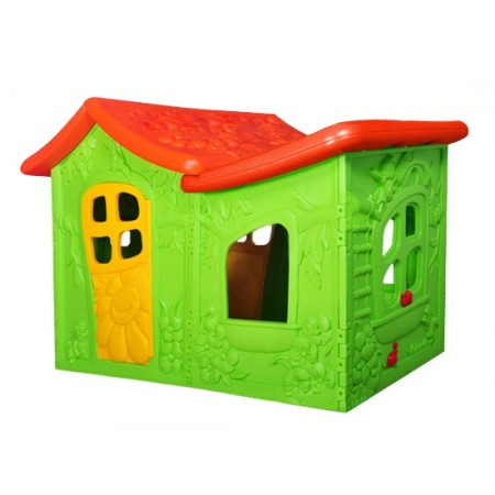 Детский игровой домик Вилла пластиковая ОТ-12А, Малышспорт