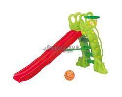 Детская горка Горошина баскетбольное кольцо SL-16