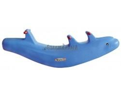 HNP 760 Качалка «Дельфин» для 3 детей 100060