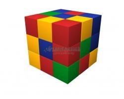 Игровой комплекс Мягкий конструктор Кубик-рубик ДМФ-МК-27.90.13