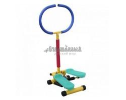 Тренажер детский механический «Степпер» с ручкой