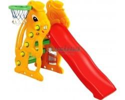 Детская горка Заяц баскетбольное кольцо SL-07