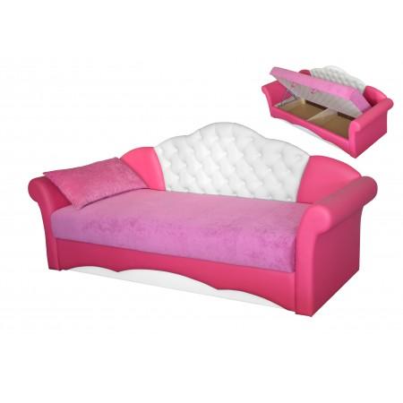 Кровать для девочки Мирабелла-2, МЕБЕЛЬ ХОЛДИНГ