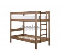 Двухъярусная кровать из массива сосны Дуэт 3
