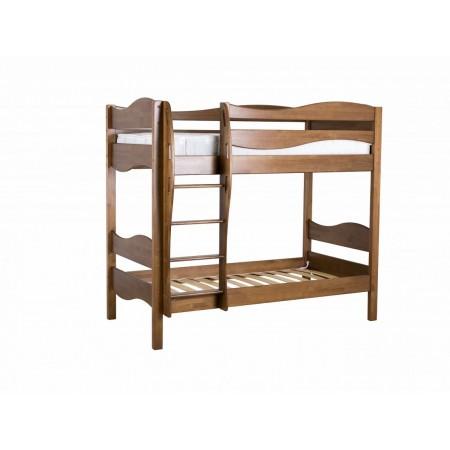 Двухъярусная кровать для детей из массива сосны Ладушка Волна, МЕБЕЛЬ ХОЛДИНГ
