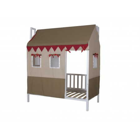 Кровать с крышей Домовёнок-2, МЕБЕЛЬ ХОЛДИНГ