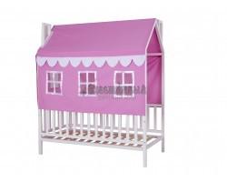 Дом - кровать для девочки Домовёнок-3