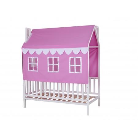 Дом - кровать для девочки Домовёнок-3, МЕБЕЛЬ ХОЛДИНГ