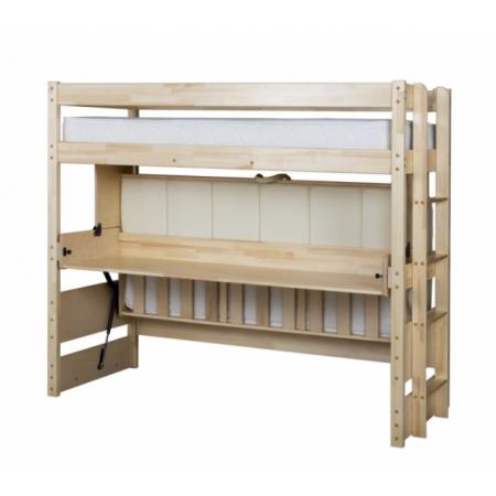 Двухъярусная кровать трансформер со столом Знайка Эко, МЕБЕЛЬ ХОЛДИНГ