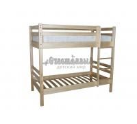 Кровать двухъярусная Ладушка-1 из массива сосны