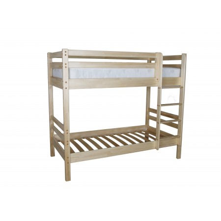 Кровать двухъярусная Ладушка-1 из массива сосны, МЕБЕЛЬ ХОЛДИНГ