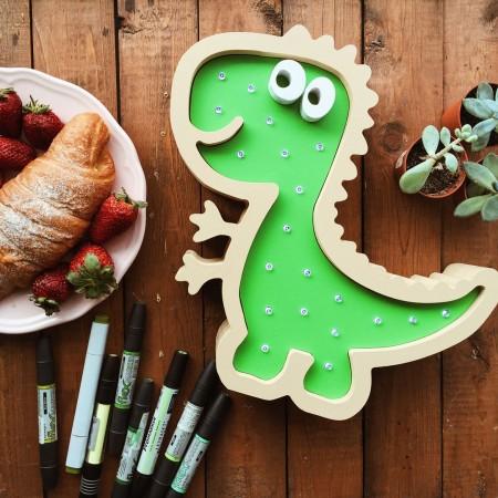 Детский ночник динозавр, Лесная Фея
