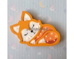 Детский ночник лисёнок