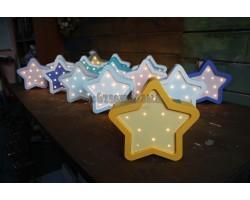 Детский ночник мини звезда
