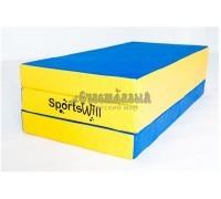Мат SportsWill складной 150 х 100 х 10