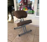 Коленный стул Олимп СК 1-2 Газлифт  коричневая классика