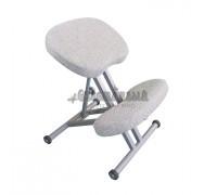 Коленный стул Олимп СК 1-1 бежево-белый