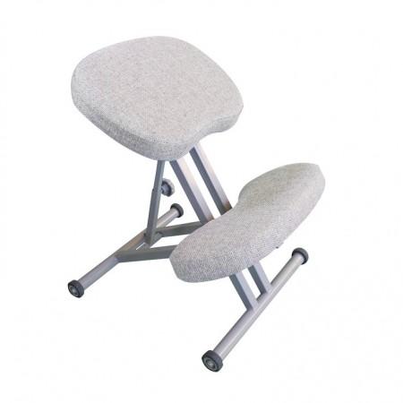 Коленный стул Олимп СК 1-1 бежево-белый , Takasima