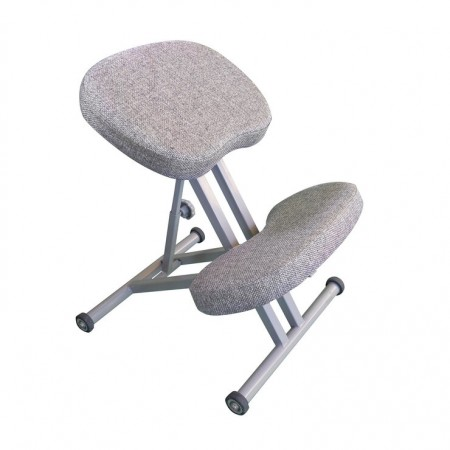 Коленный стул Олимп СК 1-1 светло-серый, Takasima