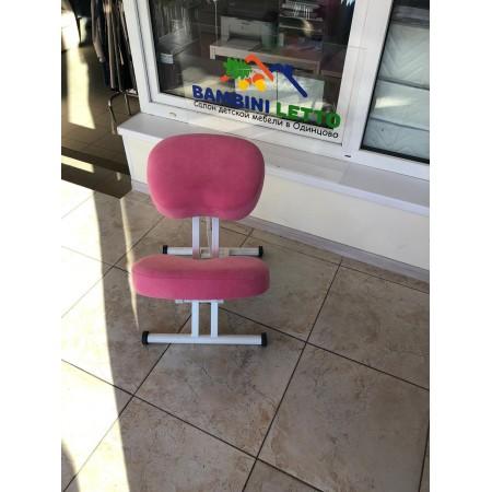 Коленный стул Олимп СК 1-2 розовый пони, Takasima