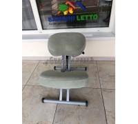 Коленный стул Олимп СК 1-2 Газлифт  оливковая ветвь