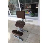 Коленный стул Олимп СК 2-2 коричневая классика