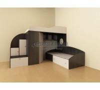 Двухъярусная кровать-чердак - Кадет 2
