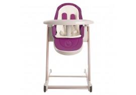 Стульчик-шезлонг для кормления и игр Babyruler CH999 Фиолетовый