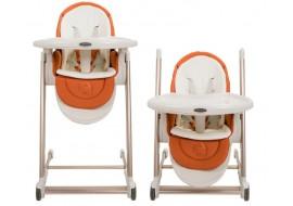Стульчик-шезлонг для кормления и игр Babyruler CH999 Оранжевый