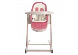 Стульчик-шезлонг для кормления и игр Babyruler CH999 Розовый