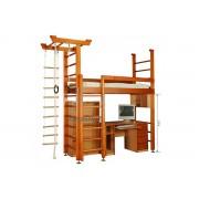 Детские многофункциональные кровати чердаки (19)